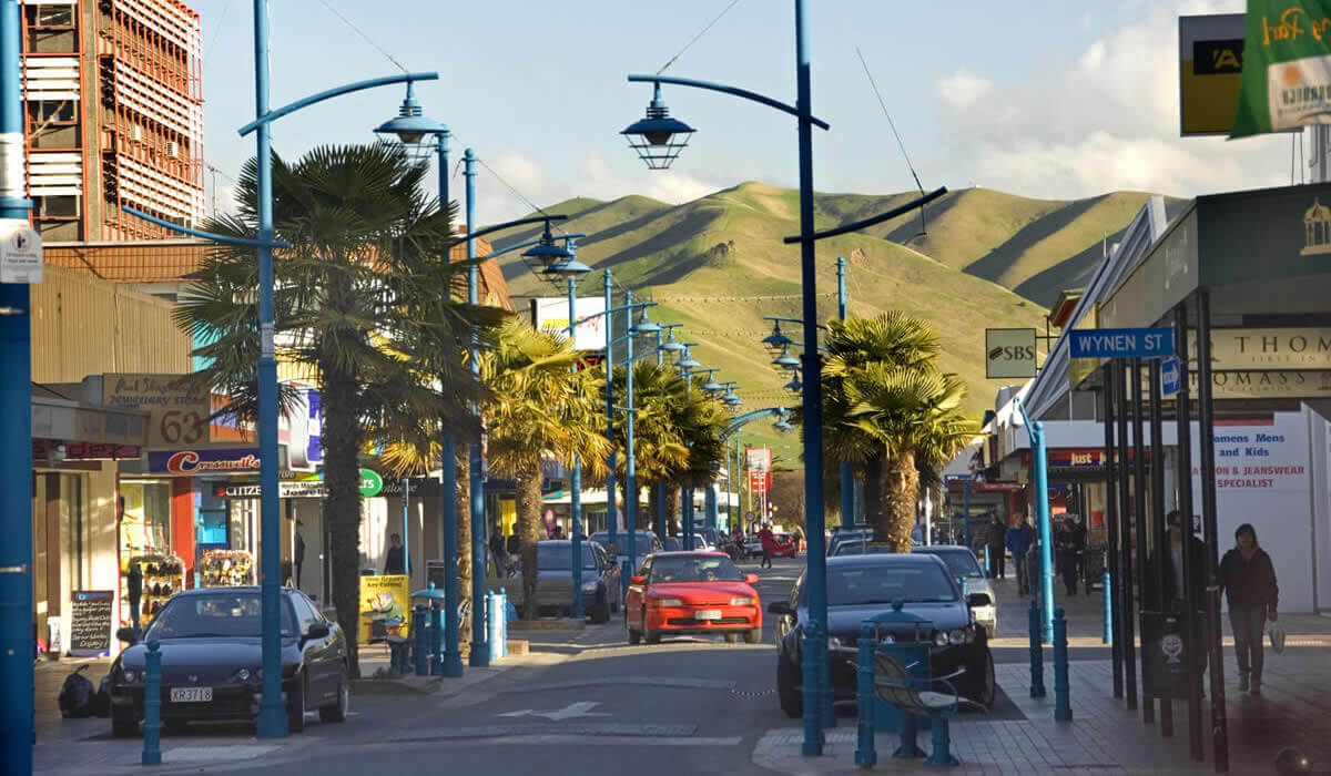 Blenheim Main Street Is Walking Distance From Waterfront Motels In Marlborough